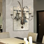 Mandolin Chandelier by Savoy House