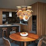 Discoco Wood Pendant -