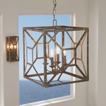 Marquelle 4 Light Chandelier by Feiss