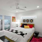 Plum Ceiling Fan No Light -  /