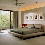 Stratos Ceiling Fan No Light by Modern Fan Co.