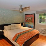 Velo Flush Ceiling Fan No Light -  /