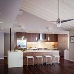 Velo Ceiling Fan with Light by Modern Fan Co.