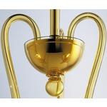 Medusa 3-light Suspension - Gold / Amber
