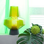 Metal Glass 2 Table Lamp -  /