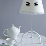 Audrey Eye Doll Table Lamp by Mineheart