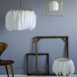 Feather Table Lamp by Mineheart