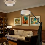 Milan Ceiling Flush Mount by DVI Lighting
