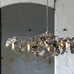 Montone Oval Chandelier - High Gloss /