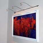 Wall Monorail by Edge Lighting