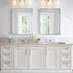 Monterro Bathroom Vanity Light by Feiss