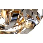 Montone Round Chandelier - High Gloss /