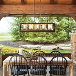 Morelle Outdoor Linear Chandelier -