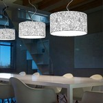 Icon Round Pendant by Morosini - Medialight