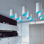 Pank Tube Ceiling Light Fixture by Morosini - Medialight