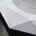 Diamond Pendant - White / White