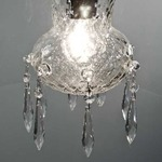 Morphosis Pendant - Chrome / Clear / Ballotton Crystal