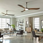 Minimalist Max Indoor / Outdoor Ceiling Fan with Light by Monte Carlo