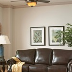 Town Ceiling Fan with Light by Monte Carlo