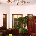 Ar Ruthiane Wood Ceiling Fan by Matthews Fan Company