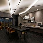 Soft Line LED 24V Single Row Indirect - Satin Aluminum /