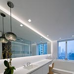 Ellipse Bubble Pendant  | by Siemon and Salazar<br />Interior Design | Michael Richman