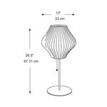 Pear Lotus Table Lamp -  /