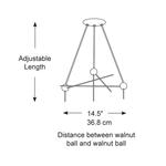Bubble Lamp Triple Canopy -  /