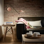 Non La A 04 Swing Arm Wall Light by Bover
