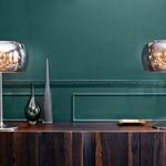Alain Table Lamp - Chrome / Crystal
