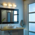 Oceanus Glass Bath Bar by Hubbardton Forge