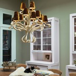 ODE 15 Light Chandelier -  /
