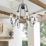 Oleander Outdoor Chandelier by Savoy House