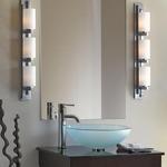 Ondrian 315 Left Bath Bar Vintage Platinum - Vintage Platinum / Opal