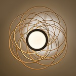 Vertigo Pendant - Bronze/ Caramel Ice /