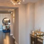 Zanadoo Semi Flush Ceiling Light Fixture -