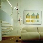 Parentesi Ceiling To Floor Lamp by Flos Lighting