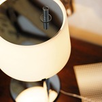 Passion Medium Table Lamp - Chrome / White
