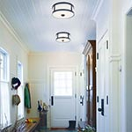 Patterson Ceiling Flush Mount by Hudson Valley Lighting