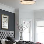 Pave Semi Flush Ceiling Light -