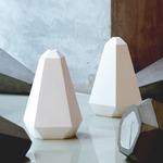 Portland Plaster Pendant - Plaster / White