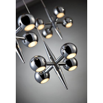 Pearla LED Chandelier - Chrome /