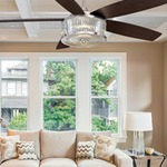 Phoebe Ceiling Fan with Light by Savoy House