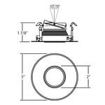 Pinhole Round 4 Inch Trim -  /