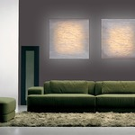 Planum Square Wall Light by Arturo Alvarez