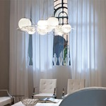 Plateau Round Pendant by Oluce Srl