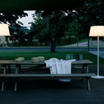 Plis Outdoor Floor Lamp -  /