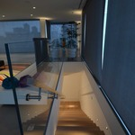 Port LED Square Wall/Floor Recessed by Edge Lighting