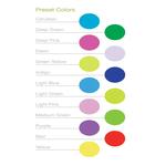 Chameleon Color Changing Cylinder Pendant - Satin Nickel / Multicolor