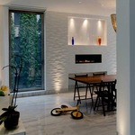 Aurora LED Round Edge 1.3 Inch Flangeless Trim/Housing by Pure Lighting